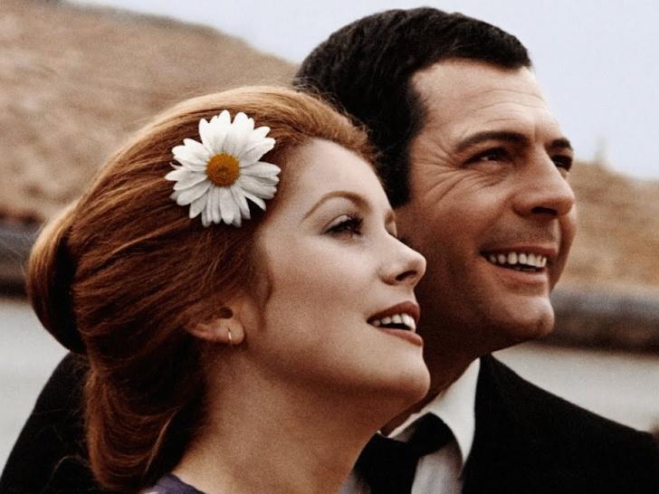 Фото №1 - Лед и пламень: обреченная любовь Катрин Денев и Марчелло Мастроянни— самой красивой пары европейского кино