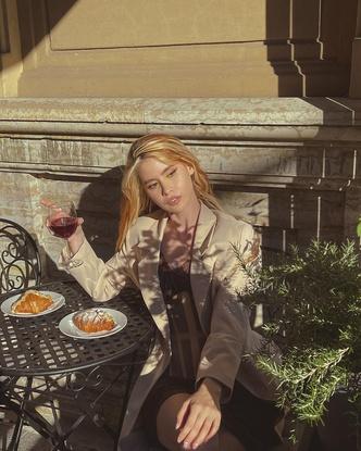 Фото №3 - Платье+корсет: элегантный образ для свидания от Ани Хахадетки
