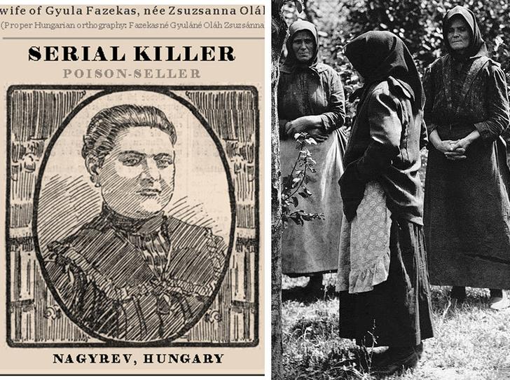 Фото №1 - Черные вдовы Надьрева: зачем женщины венгерской деревни отравили всех своих мужчин