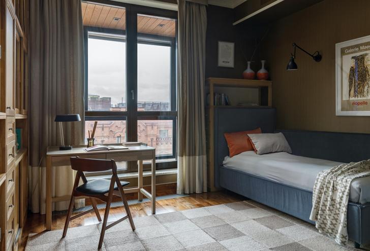 Фото №11 - Светлая квартира с панорамными окнами в Хамовниках