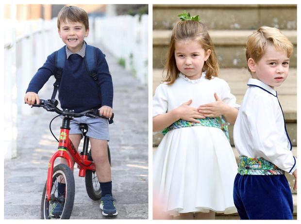 Фото №1 - В какой роли Луи дебютирует значительно позже, чем Джордж и Шарлотта (и почему)