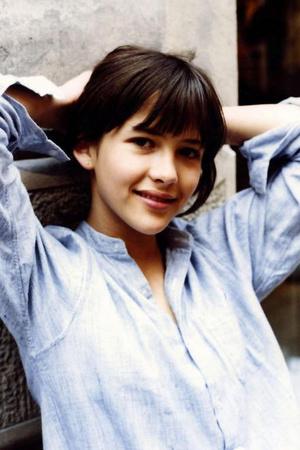 Софи Марсо в 14 лет