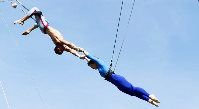 Летняя цирковая школа «Трапеция Актуаль» в Парке Горького