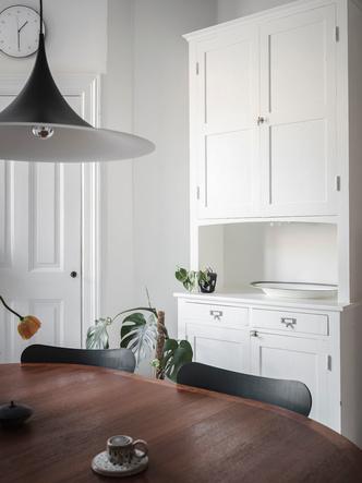 Фото №14 - Уютная скандинавская квартира с микро-спальней в Гетеборге