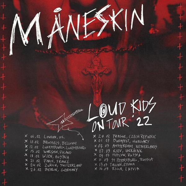 Фото №2 - Måneskin дадут большие концерты в Москве и Санкт-Петербурге! Узнай, когда и как купить билеты 🤘🏼