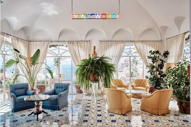 Фото №3 - Отель Le Sirenuse в здании XVIII века в Позитано