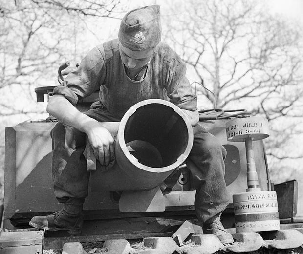 Фото №1 - «Они утонули…»: чудо-танки союзников для высадки в Нормандии