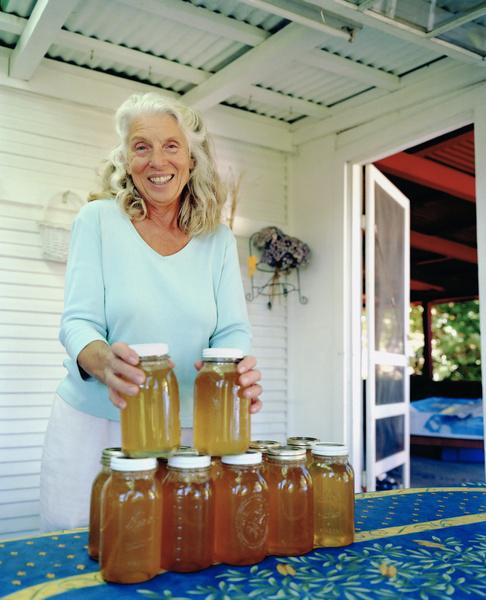 мед на водяной бане
