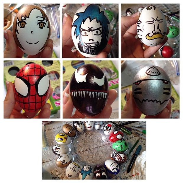 Фото №21 - Как расписать яйца на Пасху: советует Instagram