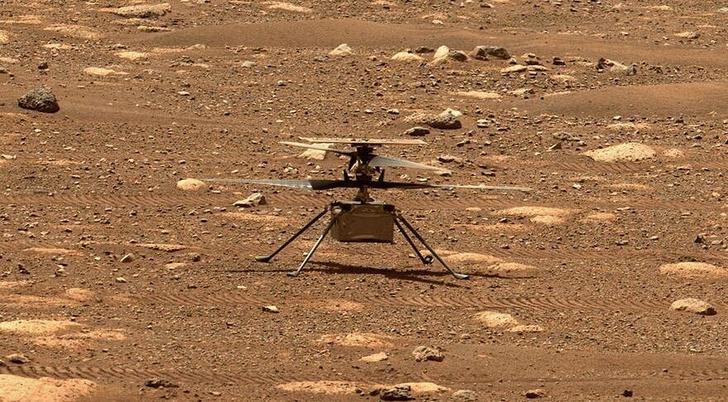 Фото №1 - В Китае работают над марсианским вертолетом