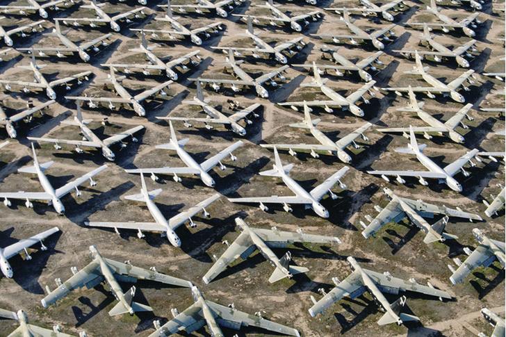 Фото №1 - Самое большое кладбище самолётов в мире