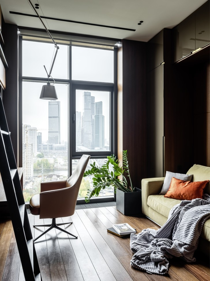 Фото №5 - Квартира 160 м² для бизнесмена в Москве