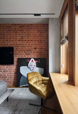 Фото №10 - Уютная квартира в стиле лофт в Калининграде