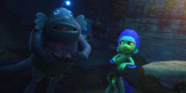 Фото №2 - 10 невероятно прекрасных и трогательных сцен из мультфильма «Лука» от Pixar 🌊