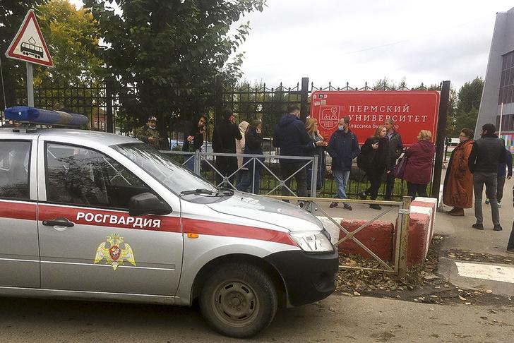 Фото №3 - Студенты выпрыгивали из окон: 18-летний ученик устроил стрельбу в Пермском университете