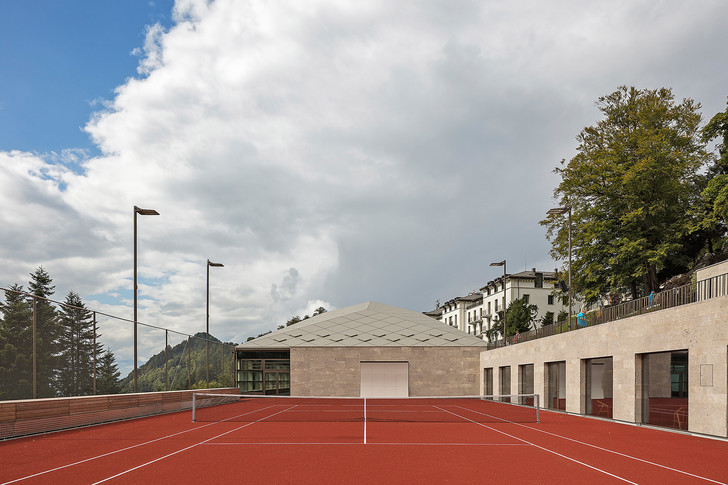 Фото №3 - Теннисные корты с ромбовидными потолками