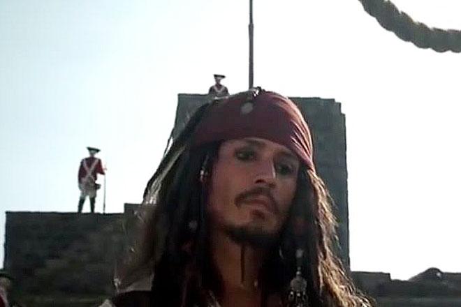 Фото №9 - Тысяча чертей! 20 убойных киноляпов в «Пиратах Карибского моря»