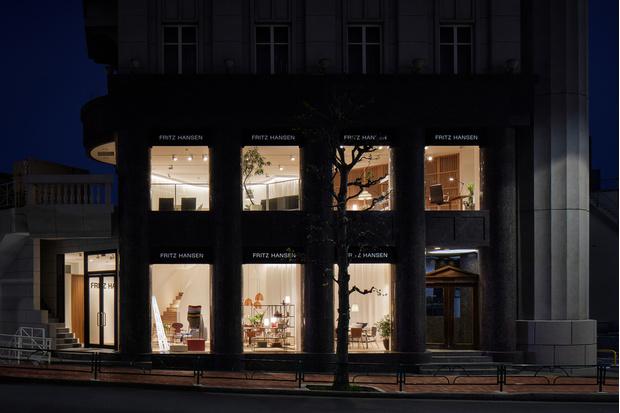 Фото №9 - Штаб-квартира Fritz Hansen в Токио по проекту Кенго Кумы