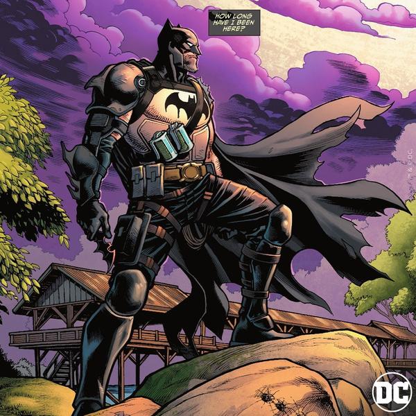 Фото №1 - Бэтмен путешествует по России в новом комиксе DC