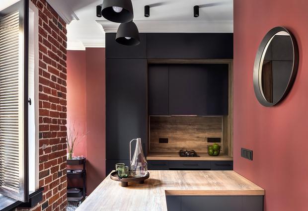 Фото №4 - Эклектика с элементами стиля лофт: квартира 54 м² в Москве