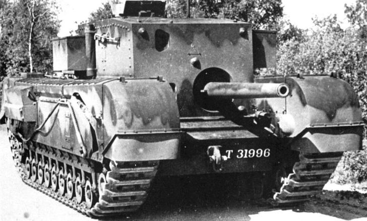 Фото №4 - Стальная жуть: самые уродливые танки Второй мировой