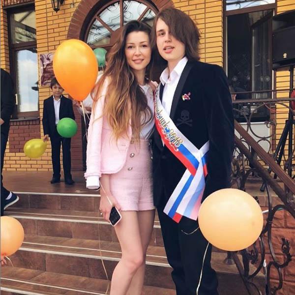 Анастасия Заворотнюк с сыном фото