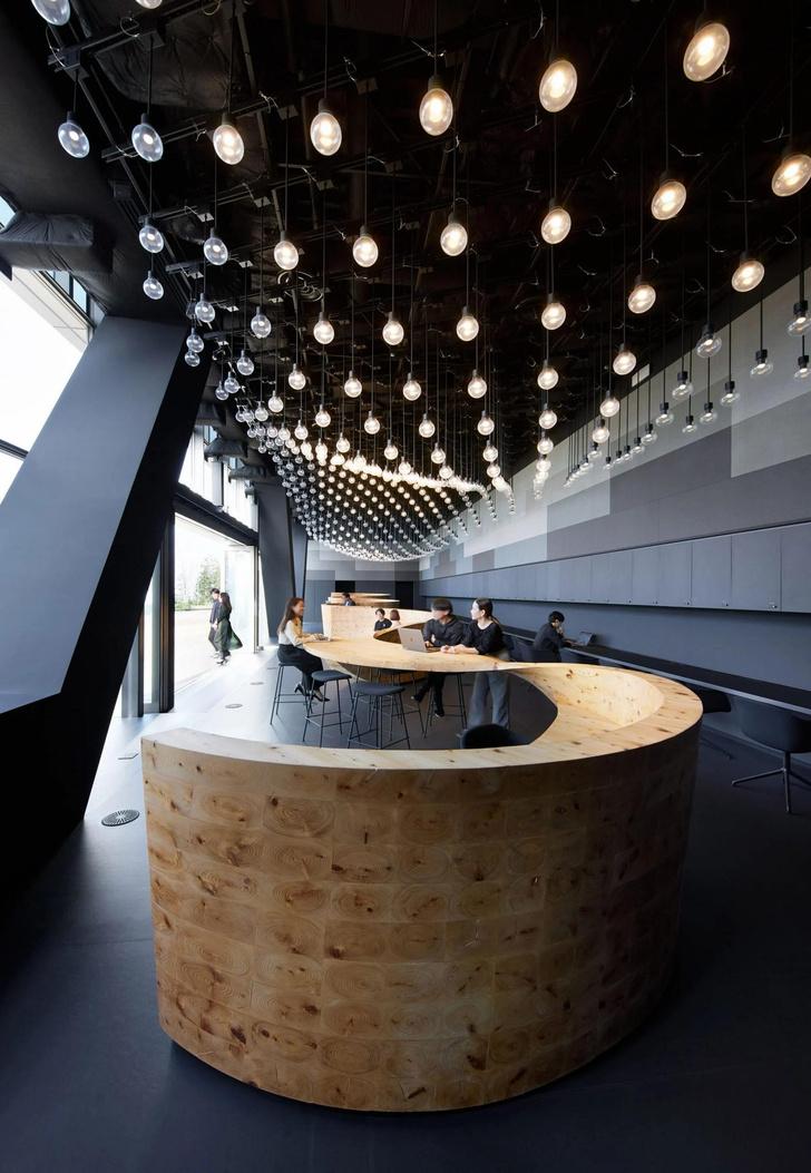 Фото №5 - Коворкинг в Токио: новый проект бюро Snøhetta
