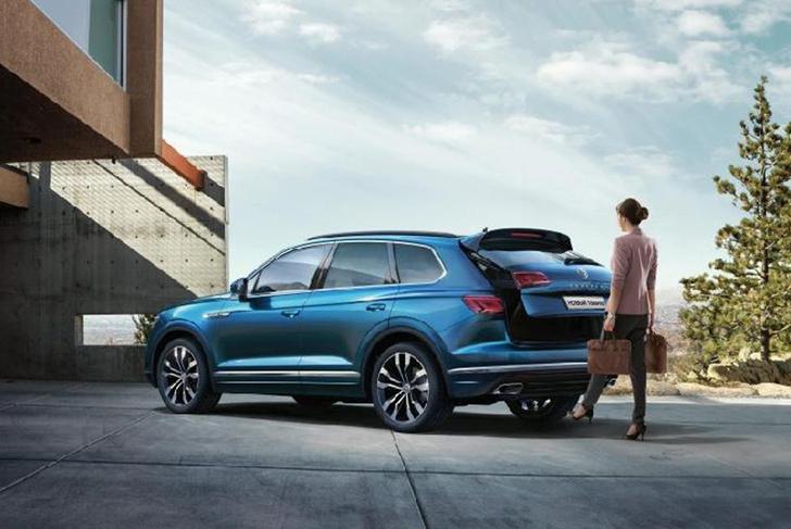 Фото №3 - Volkswagen Touareg: преодолевая зиму
