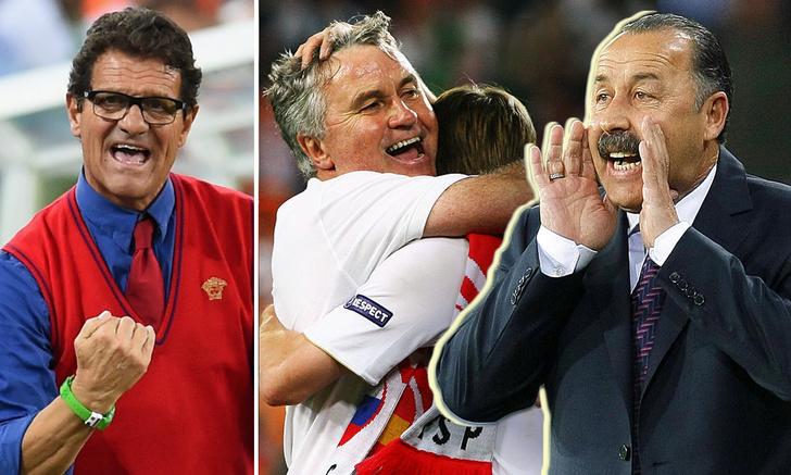Фото №1 - Эту команду не спасти: чего добивалась наша сборная по футболу при каждом из 13 тренеров с 1992 года до сих пор