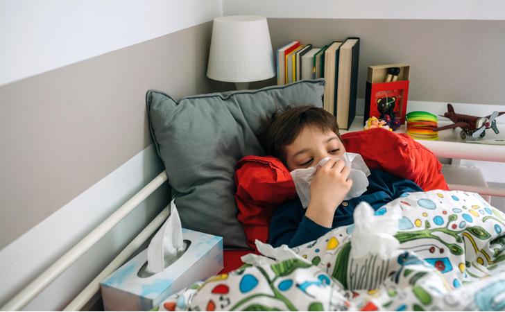 ребенок часто болеет, простуды и ОРВИ у детей