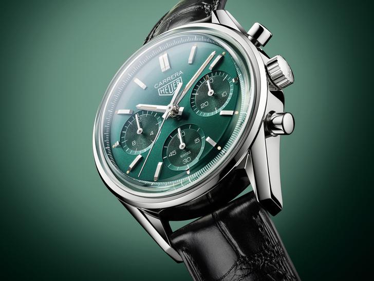 Фото №2 - Изысканные и утонченные: как выглядят новые часы TAG Heuer Carrera
