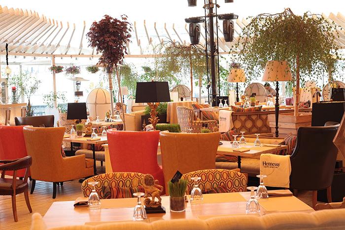Фото №1 - Официальное открытие летней веранды ресторана shakti terrace