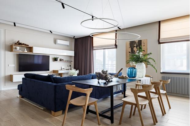 Фото №2 - Светлая квартира 105 м² в центре Санкт-Петербурга