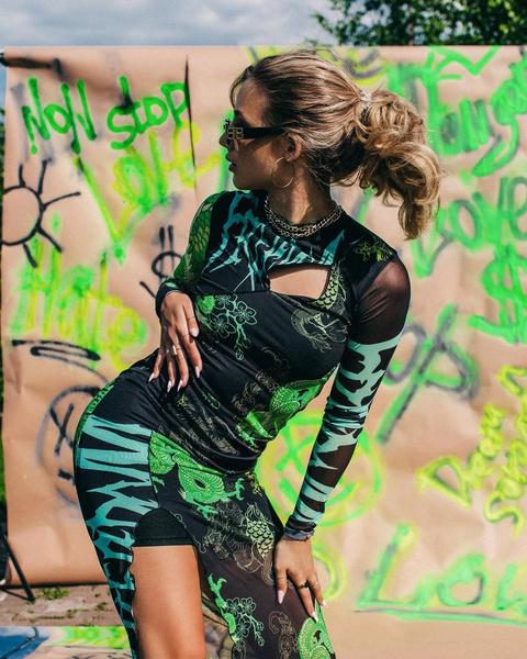 Фото №2 - Как стильно носить хвостик: объемная прическа для кудрявых волос от Ани Покров