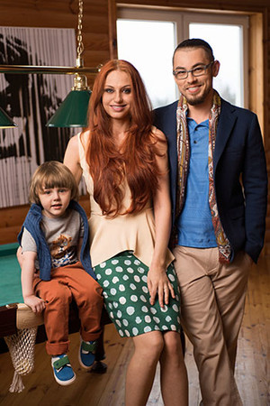 Фото №1 - Главное правило мамы: Ирина, Вячеслав, Матвей