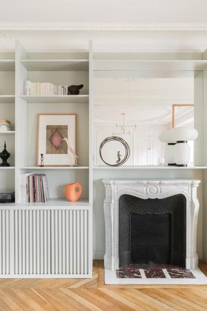Фото №5 - Парижская квартира в стиле джапанди