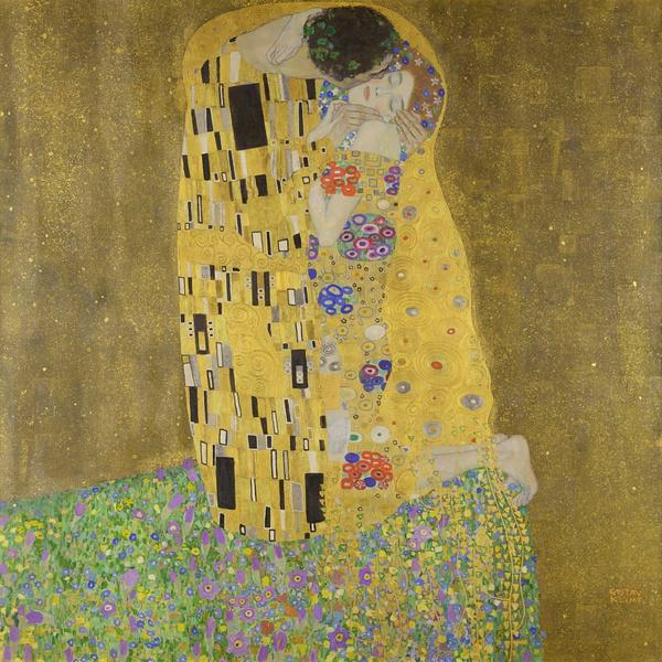 Фото №1 - Искусство поцелуя: 6 страстных картин, которые круче любой валентинки