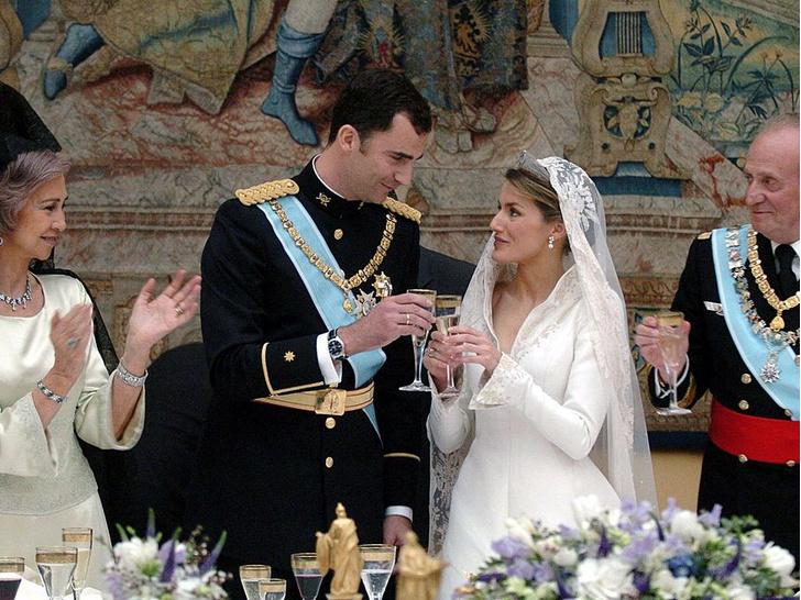 Фото №10 - Какой была свадьба короля Филиппа и королевы Летиции: история в фотографиях