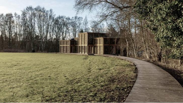 Фото №1 - Деревянная школа в датском лесу
