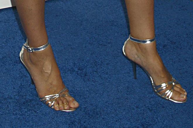 звезды с большим размером ноги Хайди Клум