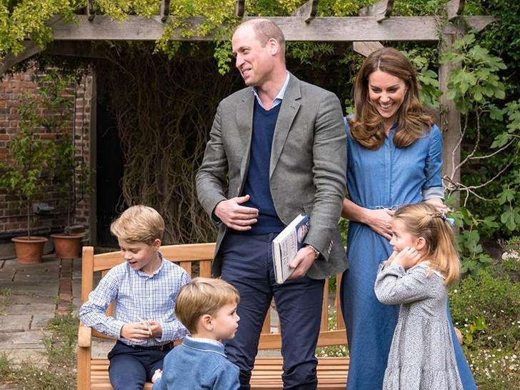 Фото №1 - Главное, чему герцогиня Кейт учит Джорджа, Шарлотту и Луи Кембриджских