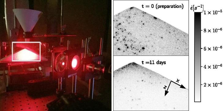 Фото №1 - Выяснилось, что внутри песка частицы находятся в постоянном движении