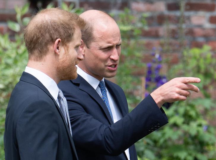 Фото №5 - Мама была бы рада: принцы Уильям и Гарри тепло встретились на открытии памятника принцессе Диане