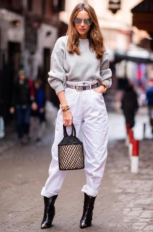 Фото №19 - Было ваше, стало наше: как и с чем носить джинсы-бойфренды