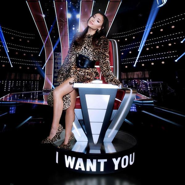 Фото №1 - Ариана Гранде станет новым наставником американского шоу «Голос» 🤩