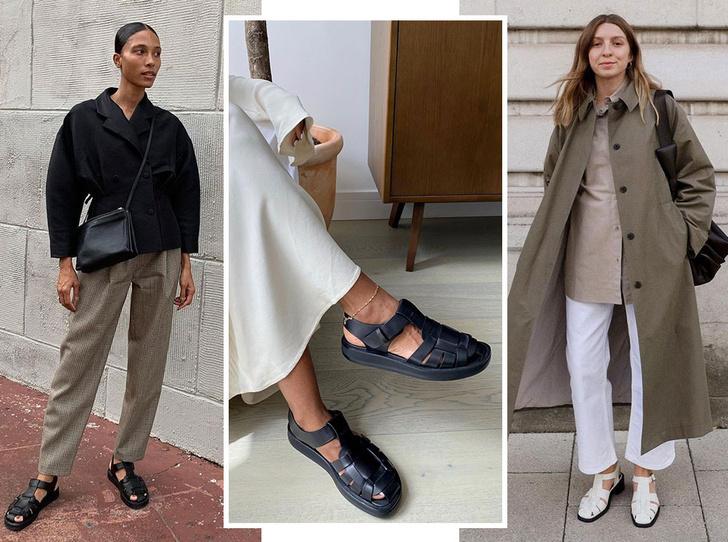 Фото №1 - «Рыбацкие» сандалии: как носить самый спорный тренд года