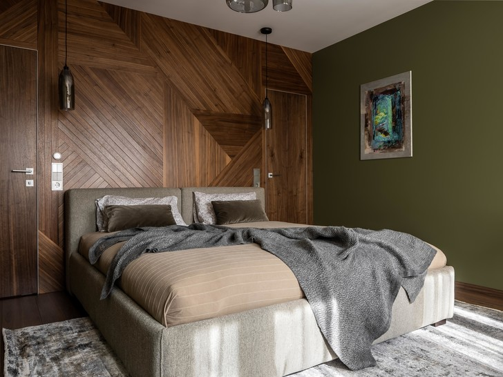 Фото №10 - Серый + горчица: уютная квартира 108 м² в Самаре