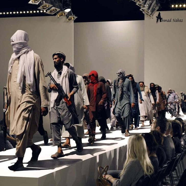 Фото №5 - В Интернете нашли самых модных боевиков из Афганистана (галерея и немного фотожаб)