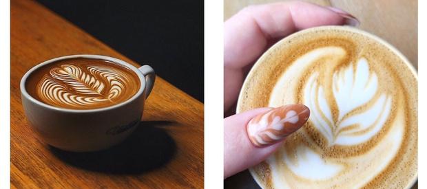 Капучино или фильтр-кофе: кофейный маникюр