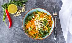 Красивый и вкусный салат «Лисичка»